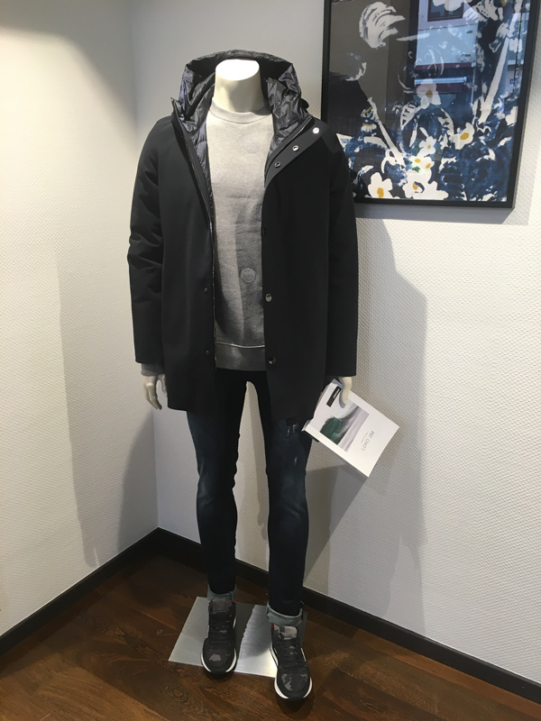 look hiver homme parka